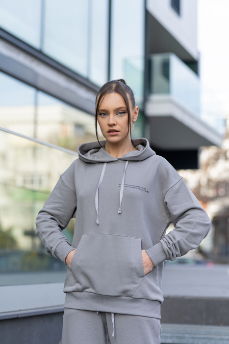 Hanorac Easy-Fit Oversized Grey [0]