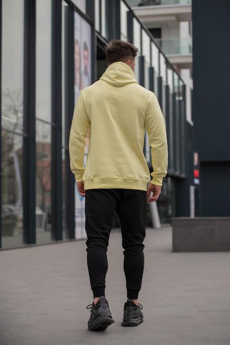 Set Kali-Fit hanorac si pantalon conic Yellow/Black [4]