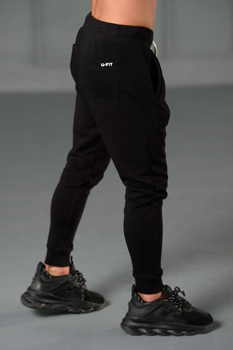 Set Kali Pro-Fit hanorac si pantalon cu tur lasat Black [8]