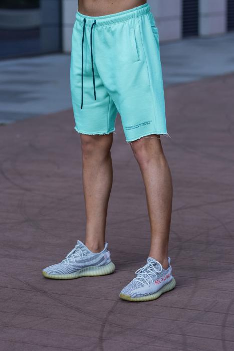 Set Malibu hanorac si pantalon scurt Mint [7]