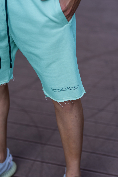 Set Malibu hanorac si pantalon scurt Mint [6]