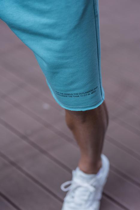 Set Malibu hanorac si pantalon scurt Dusty Turquoise [8]