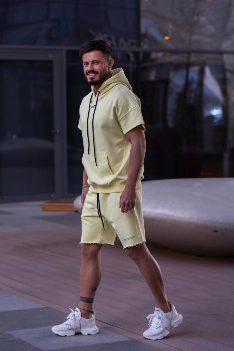 Set Malibu hanorac si pantalon scurt Yellow [3]