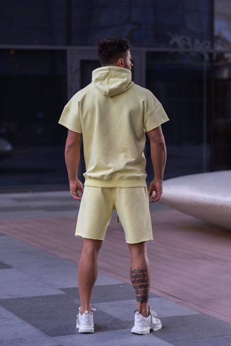 Set Malibu hanorac si pantalon scurt Yellow [6]