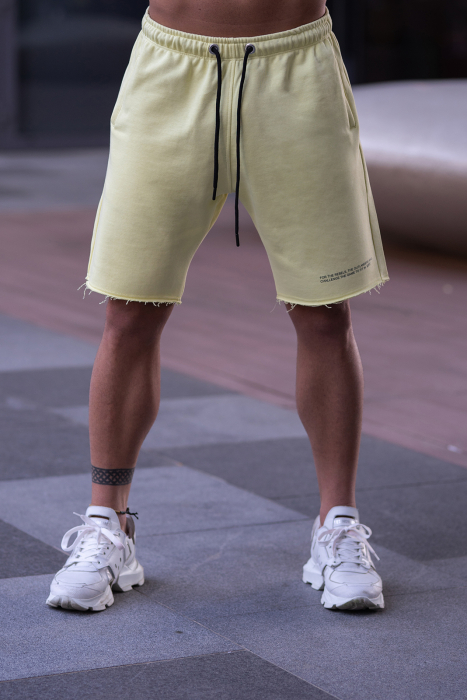 Set Malibu hanorac si pantalon scurt Yellow [9]