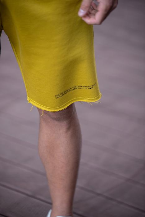 Set Malibu hanorac si pantalon scurt Mustard [11]