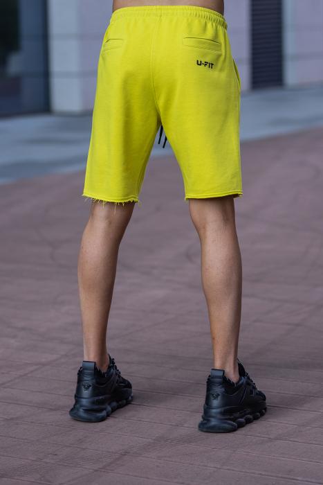 Set Malibu hanorac si pantalon scurt lime green [11]