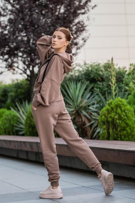 Set Opera hanorac si pantalon Brown [2]