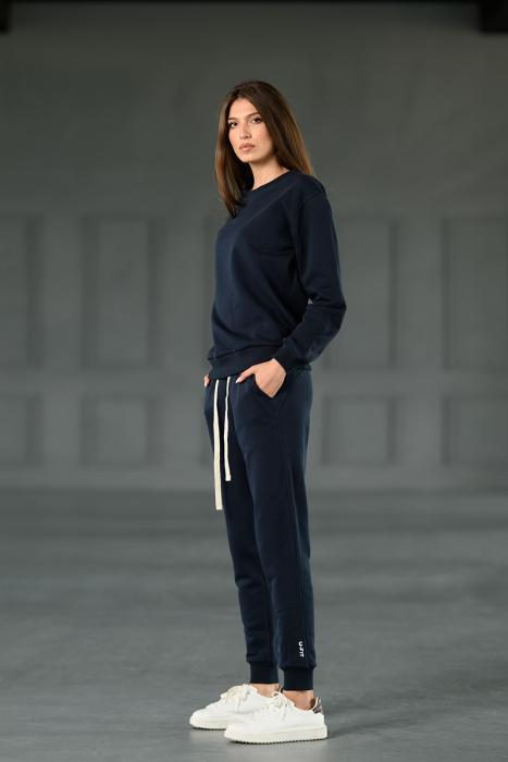 Set Revolve bluza imprimata si pantalon Navy [4]