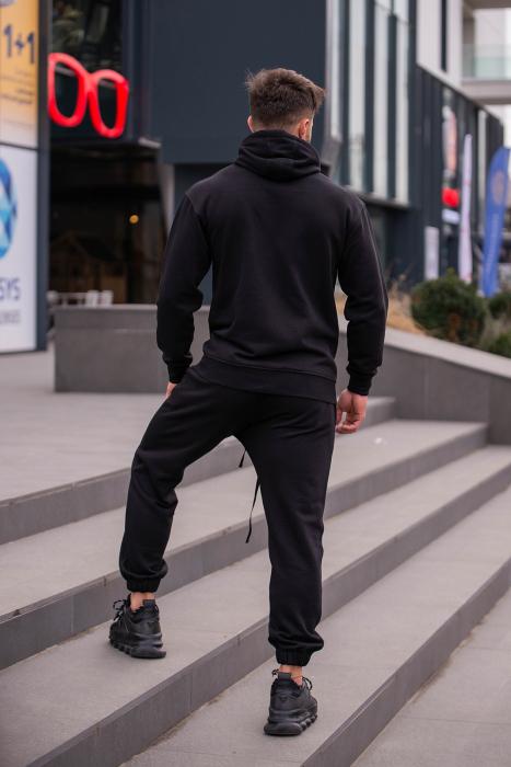 Set Rock-Fit hanorac si pantalon Black [11]