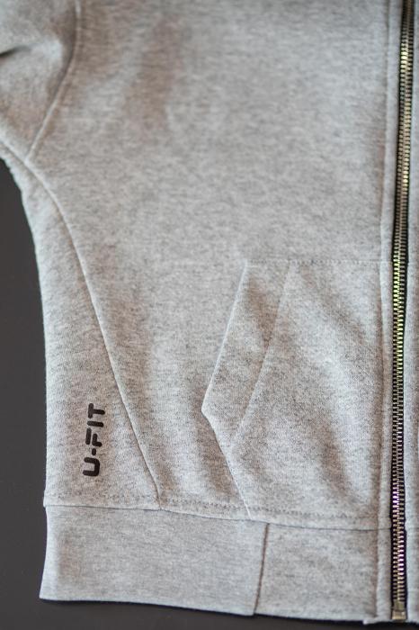 Set Rock-Fit Kids hanorac si pantalon grey/black [7]
