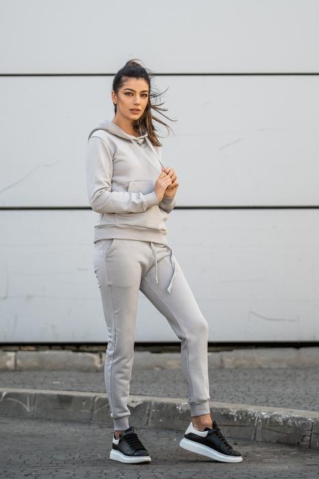 Set Row hanorac si pantalon Grey [5]