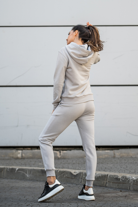 Set Row hanorac si pantalon Grey [1]