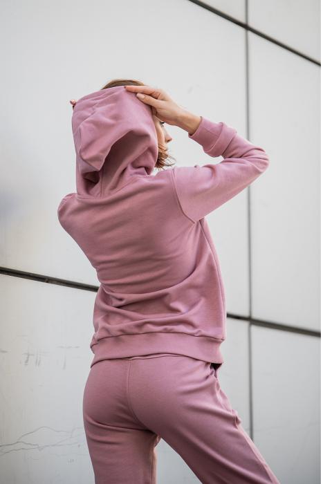 Set Row hanorac si pantalon Rose Quartz [4]