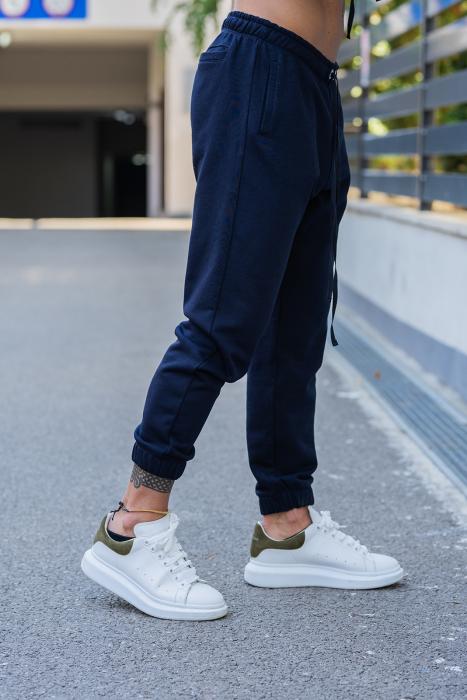 Set Easy-Fit hanorac si pantalon Oversized Orange/Navy [6]