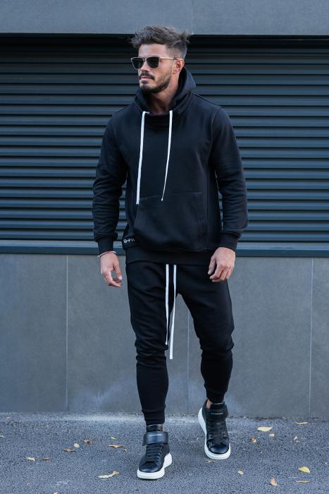 Pantalon conic Black [3]