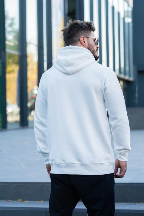 Set Kali-Fit hanorac si pantalon conic White/Black [4]