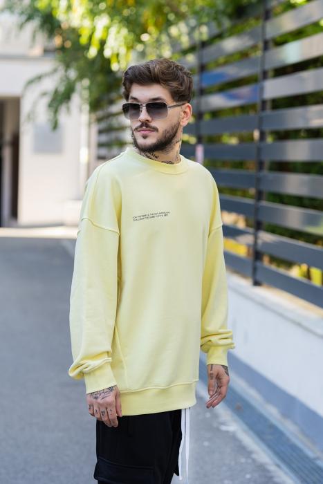 Bluza Easy-Fit Oversized galben [1]
