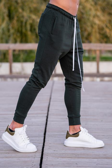 Pantalon conic Dark Green [1]