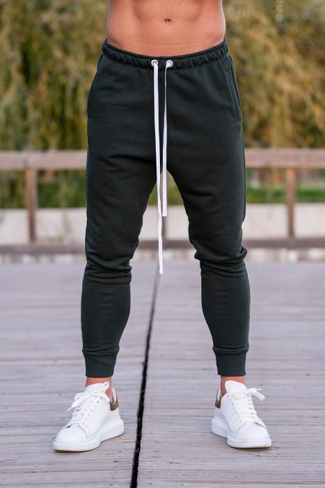 Pantalon conic dark green [0]