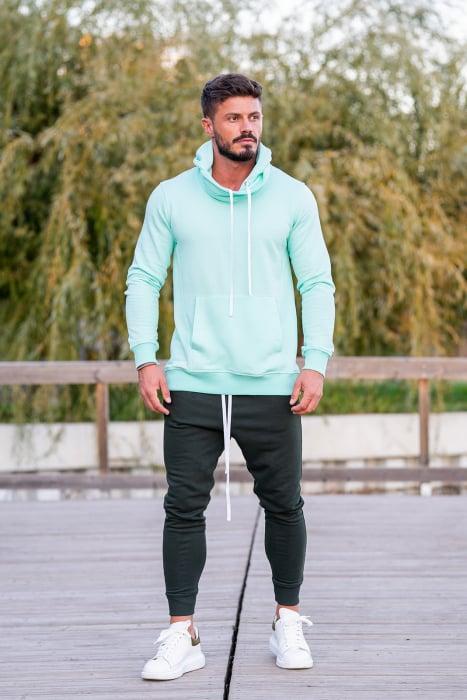 Pantalon conic Dark Green [3]