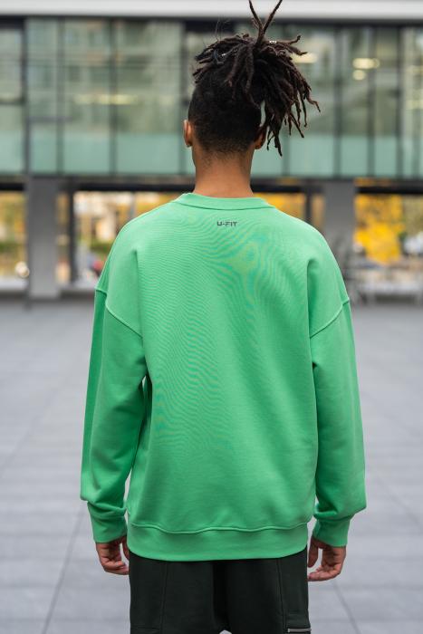 Bluza West Cartel Oversized Green [3]