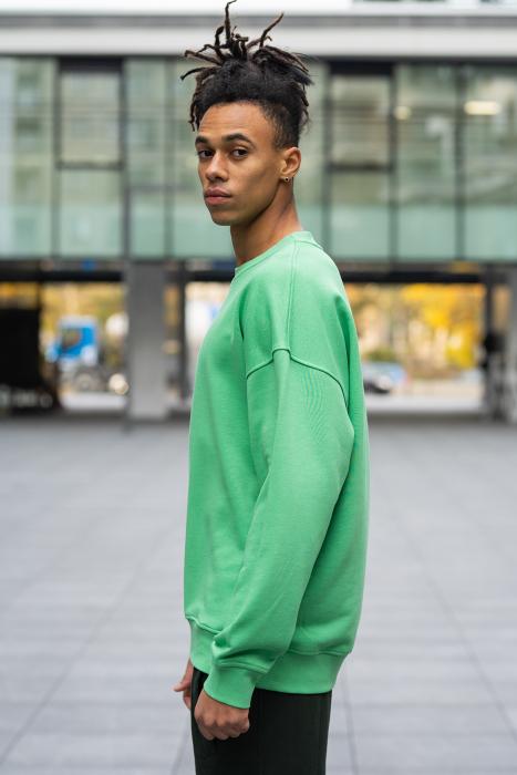 Bluza West Cartel Oversized Green [1]