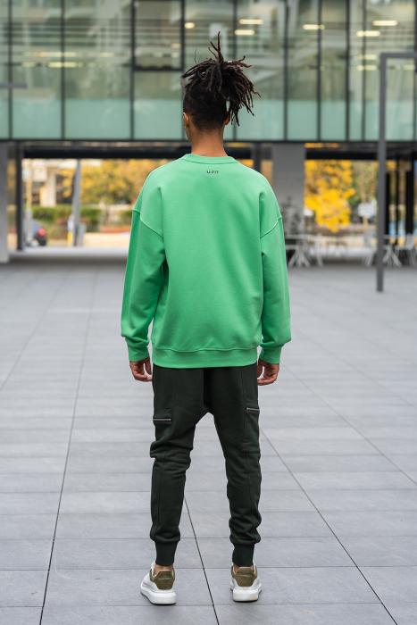 Bluza West Cartel Oversized Green [5]