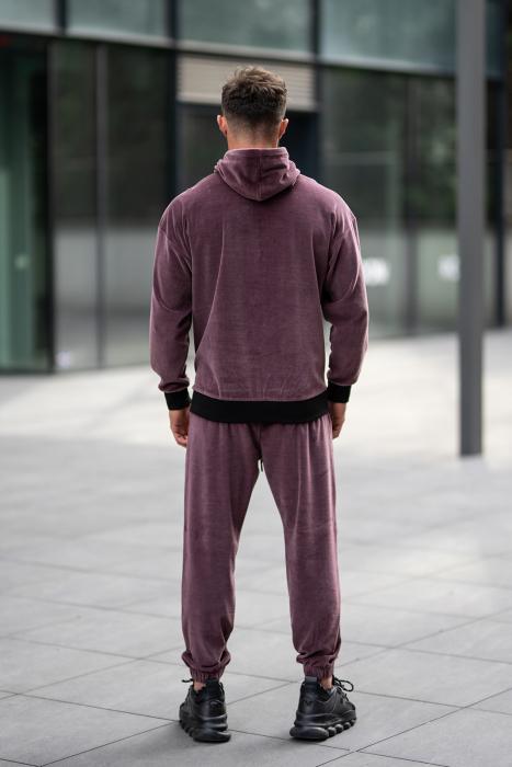 Set Velvet Zip California hanorac cu fermoar si pantalon Malaga [4]