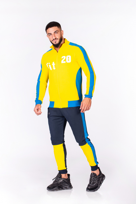 Trening Bumbac Color-Fit Yellow [1]