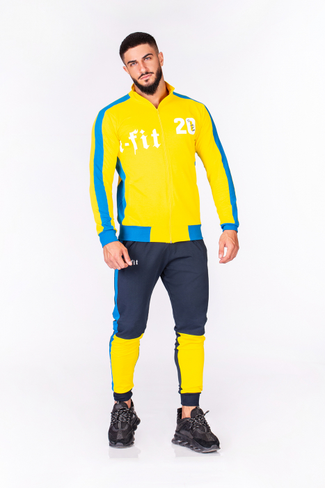 Trening Bumbac Color-Fit Yellow [6]