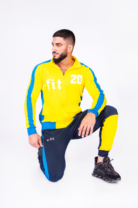 Trening Bumbac Color-Fit Yellow [4]