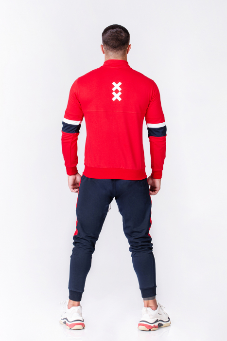 Trening Bumbac CR-Fit Red/Navy [3]