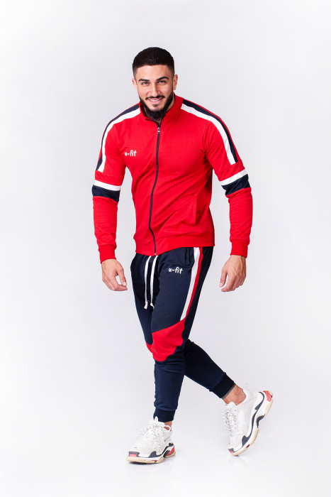Trening Bumbac CR-Fit Red/Navy [1]