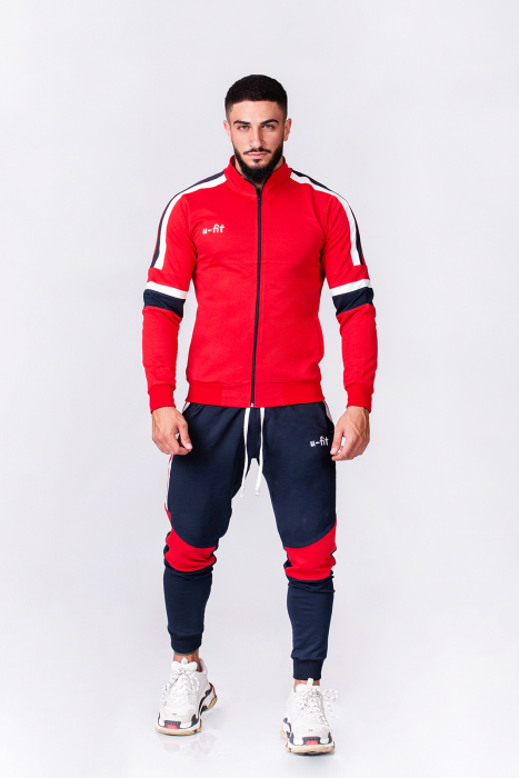 Trening Bumbac CR-Fit Red/Navy [2]