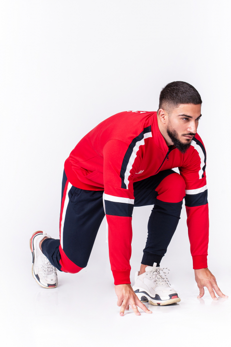 Trening Bumbac CR-Fit Red/Navy [4]