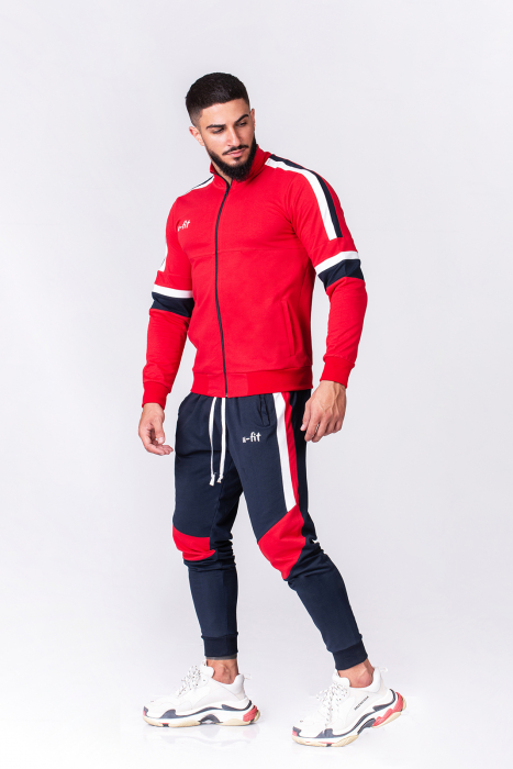 Trening Bumbac CR-Fit Red/Navy [0]