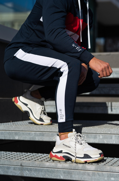 Trening bumbac Care-Fit Navy [6]