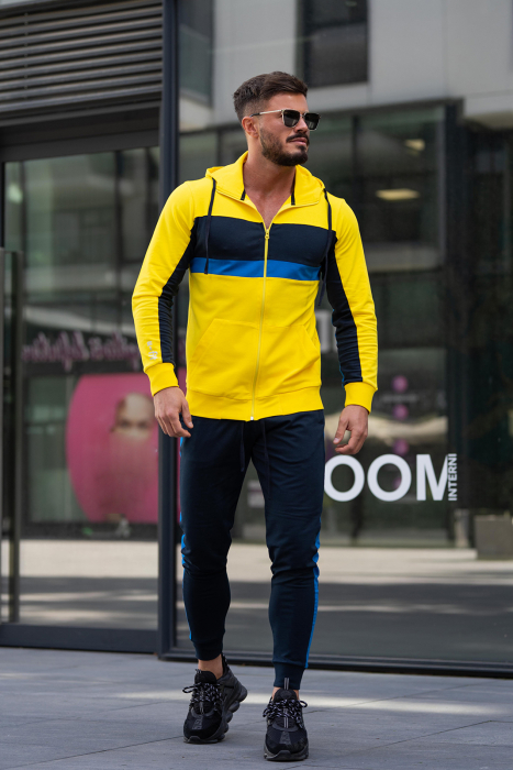 Trening bumbac Care-Fit Yellow/Navy [0]