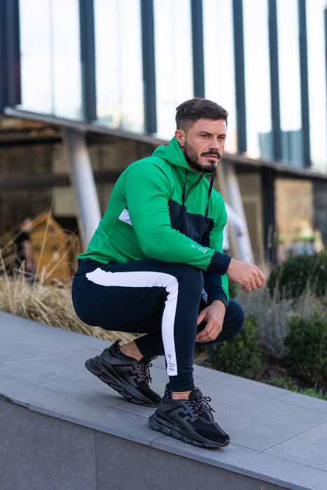 Trening bumbac Care-Fit Green/Navy [4]