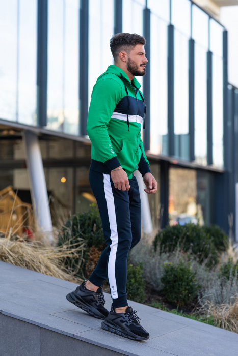 Trening bumbac Care-Fit Green/Navy [3]