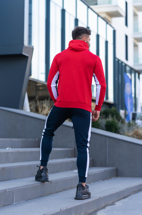 Trening bumbac Care-Fit True Red/Navy [4]