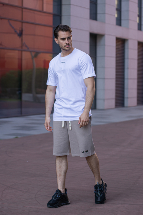 Tricou Barbati Column White [3]
