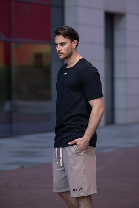 Tricou Barbati Column Black [6]