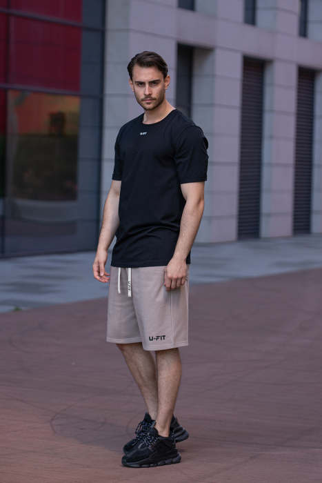 Tricou Barbati Column Black [5]