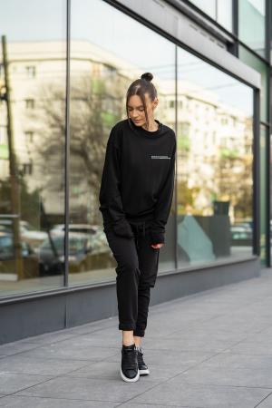 Bluza Easy-Fit Oversized Black [3]