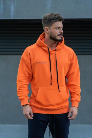 Hanorac Easy-Fit Oversized Orange [0]