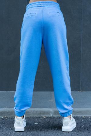 Pantalon Easy-Fit Oversized Aqua Blue [2]