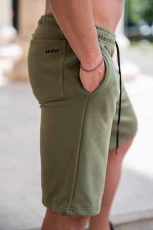 Pantalon scurt Dark Green [5]
