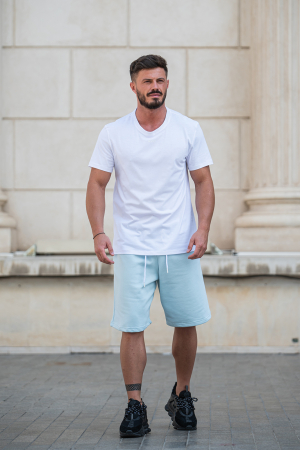 Pantalon scurt Sky Blue [5]